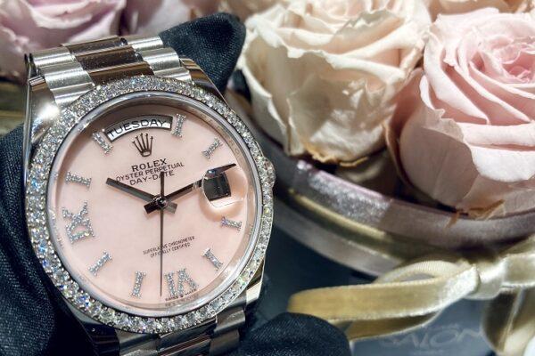 ピンクオパールの魅力!Ref.128349RBR