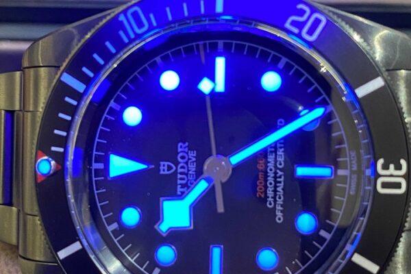 チューダー 79230DK ヘリテージ ブラックベイ ダーク